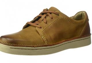 Clarks男式系带休闲鞋