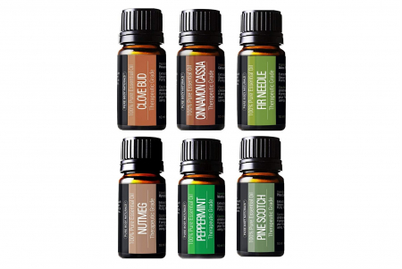 Pure Body Naturals 6种100%纯天然精油套装