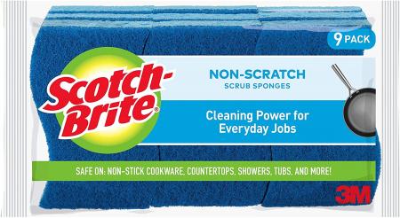 Scotch-Brite 防刮清洁海绵9块