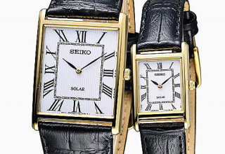 Seiko精工女款太阳能腕表