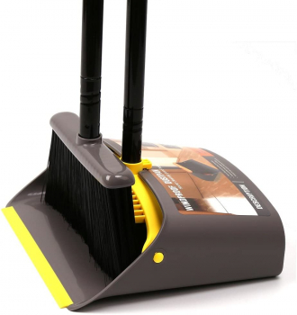 treelen 防尘平底锅和扫帚