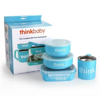 Thinkbaby 宝宝餐具套装,原价$29.42现售$19.99