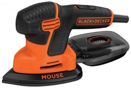 BLACK+DECKER 精细打磨电动磨砂抛光机,原价$69.3 现价$26.78
