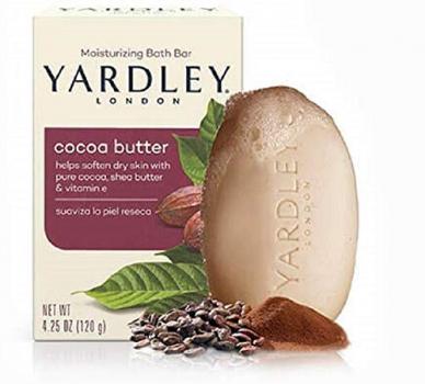 Yardley London纯可可黄油&维他命E香皂