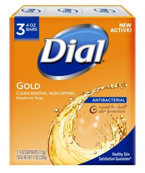 Dial抗菌去味香皂3块