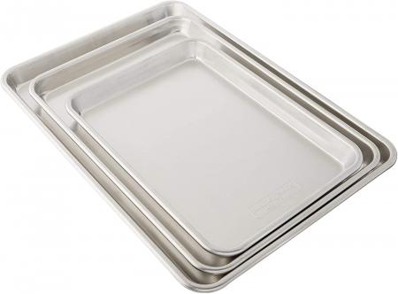Nordic Ware铝质大号烤盘三件套