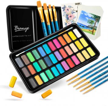 36色Bianyo儿童写生必备绘画套装