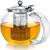 Teabloom 大容量不锈钢茶滤玻璃茶壶