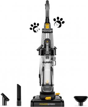 Eureka PowerSpeed 直立式无袋吸尘器, 现点击coupon后仅售$79