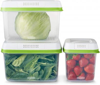 Rubbermaid FreshWorks 蔬果保鲜盒6件套