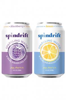Spindrift 果味气泡水12 oz. 24罐
