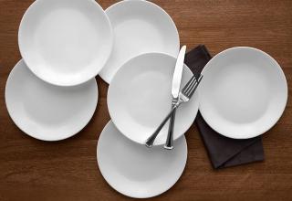 Corelle 康宁8.5寸餐盘 6个