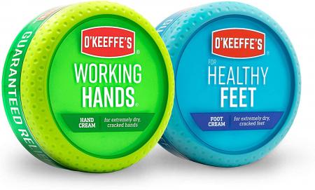 O'Keeffe's 护手霜+护脚霜组合套装