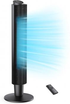 TaoTronics 可调节高度可摇头5速塔扇
