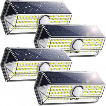 Litom太阳能感应防水户外照明灯