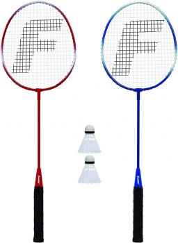 Franklin Sports 双人羽毛球拍+球四件套