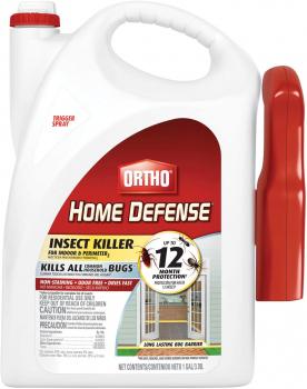 Ortho 家庭装强劲杀虫剂防虫剂,带手动喷雾