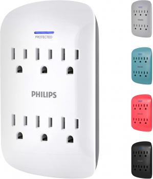 Philips 飞利浦防电涌电源插座