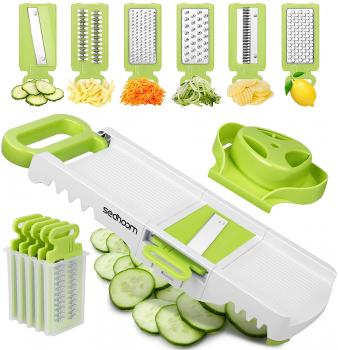 Sedhoom 6合1蔬果切片切丝器
