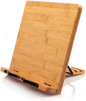 Pipishell 竹制桌面书架,原价$18.96现价$6.98