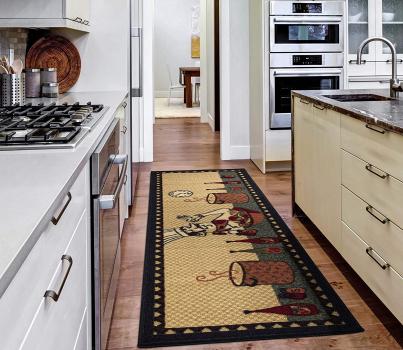 Ottomanson Siesta系列 主厨图案地毯
